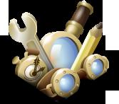 Логотип знизу