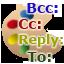 Colored Recipient Typeのアイコン