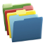 Icon of Colored Folders