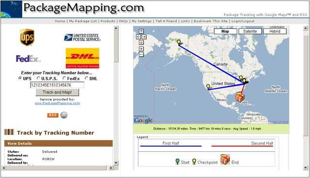 PackageMapping.com Extension :: Add-ons for Thunderbird on