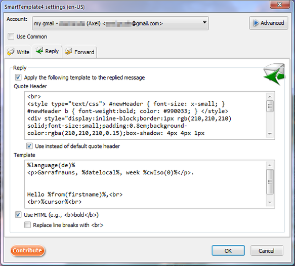 Smarttemplate4 Add Ons For Thunderbird