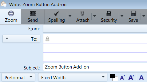 Zoom Button for Thunderbird :: Add-ons for Thunderbird