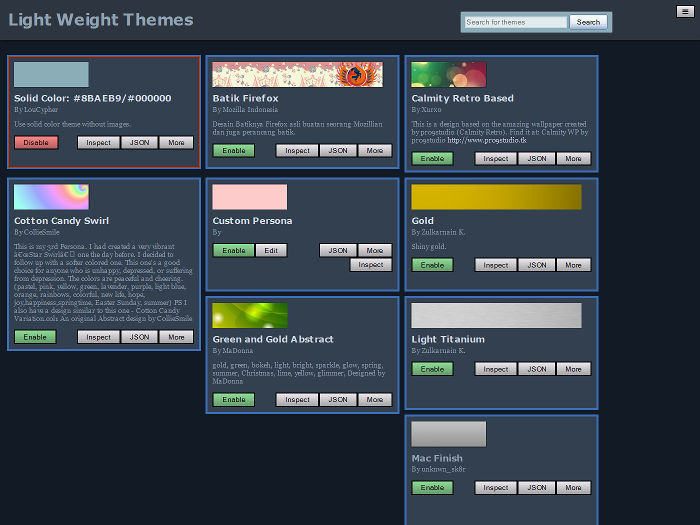Lightweight Themes Manager :: Add-ons for Firefox