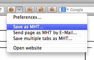 UnMHT :: Add-ons for Firefox