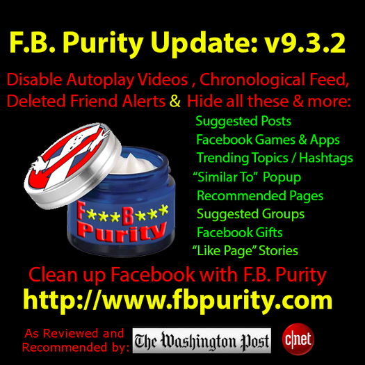 F B  Purity - Cleans Up Facebook :: Add-ons for SeaMonkey