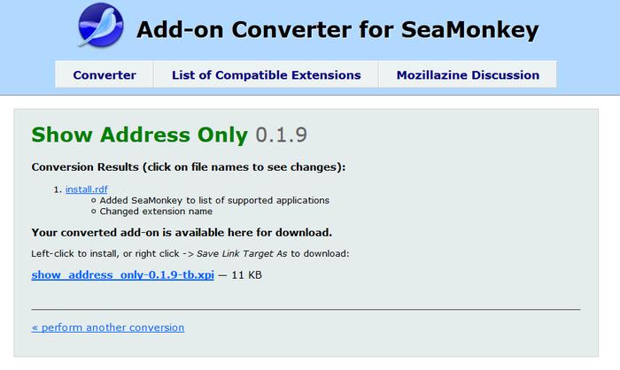 AMO Browsing for SeaMonkey :: Add-ons for SeaMonkey