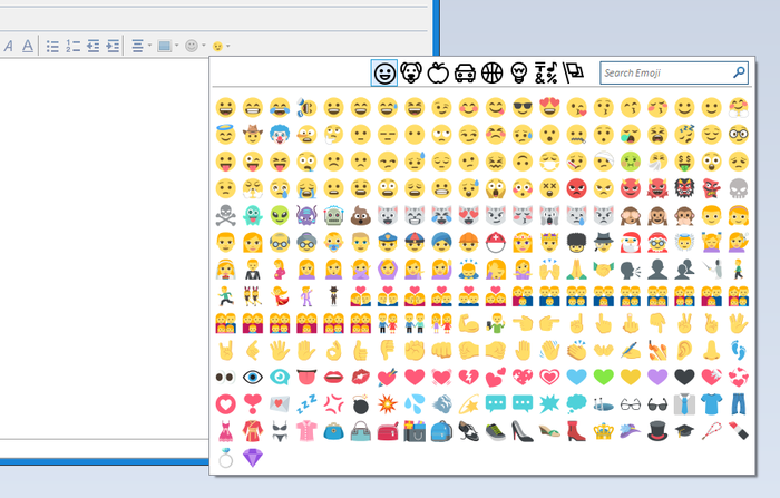 Emoji Menu :: Add-ons for Thunderbird