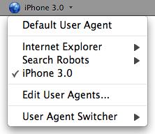 user agent switcher 0.7.3