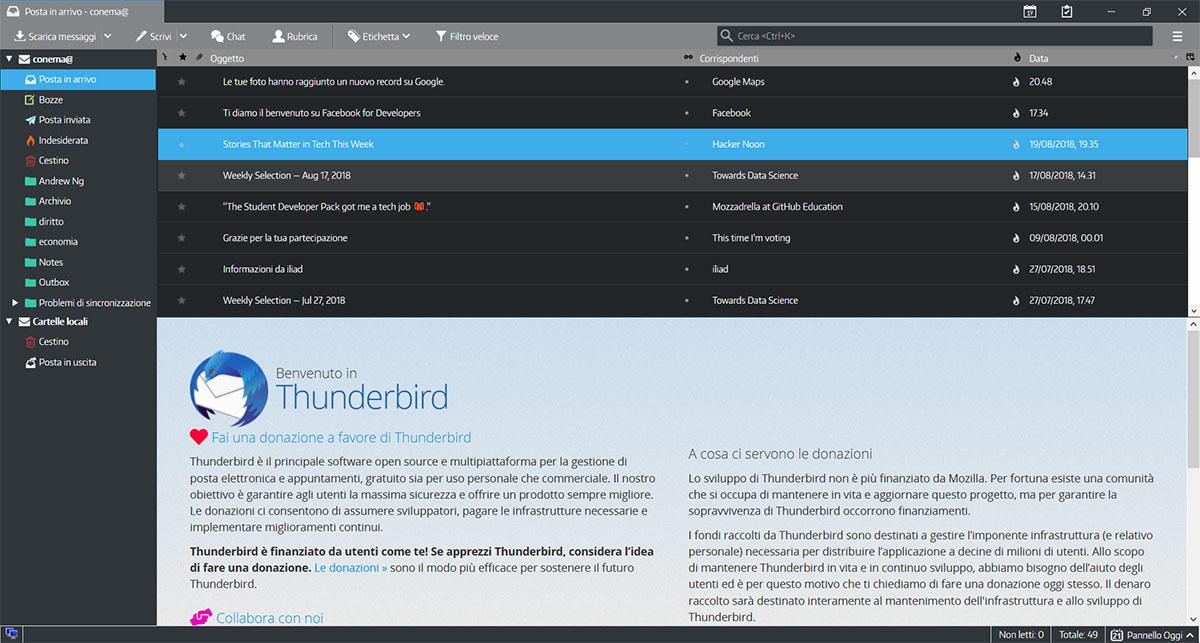 Thunderbird Dark Mode