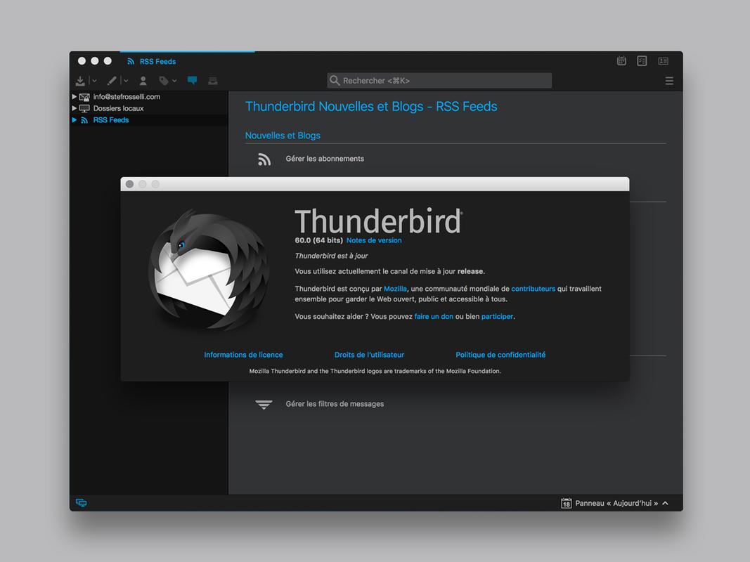 TT DeepDark :: Add-ons for Thunderbird