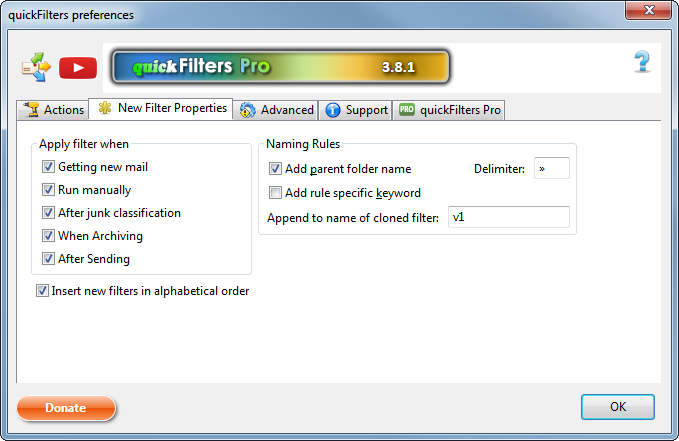 quickFilters :: Add-ons for Thunderbird