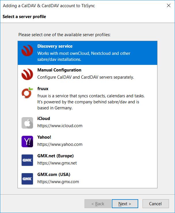 Provider for CalDAV & CardDAV :: Add-ons for Thunderbird