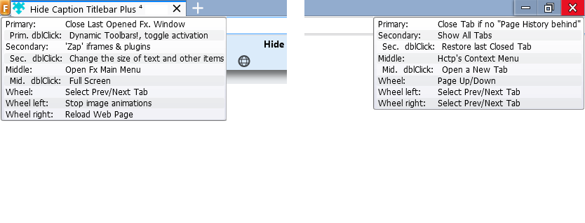 Hide Caption Titlebar Plus ⁴ :: Add-ons for Thunderbird