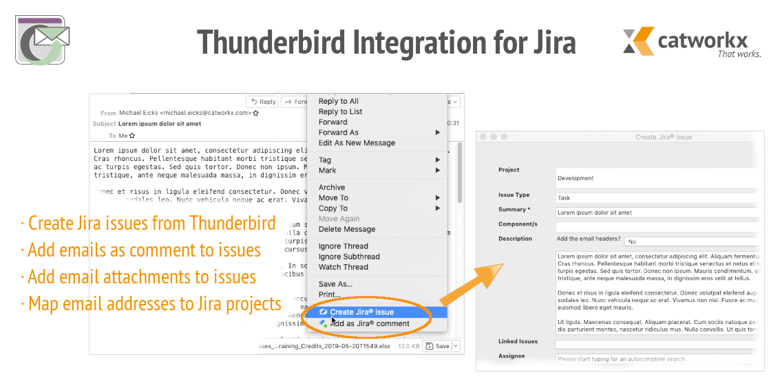 Thunderbird Integration Für Jira Add Ons Für Thunderbird