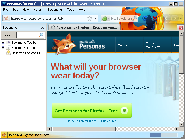 Personas Windows Classic Statusbar :: Add-ons for Thunderbird