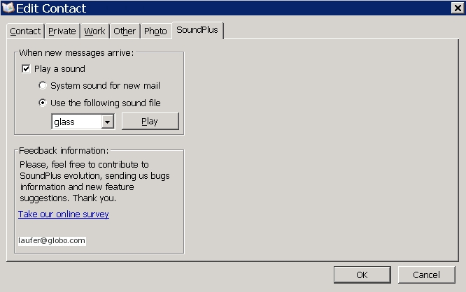 SoundPlus :: Add-ons for Thunderbird