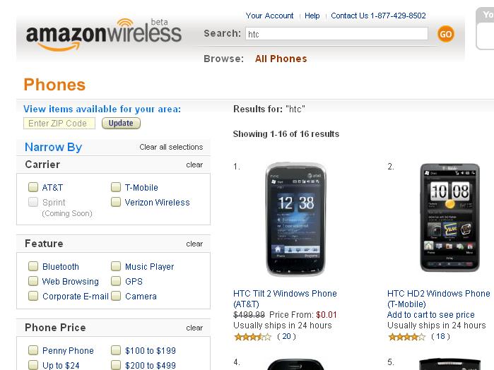 AmazonWireless com :: Add-ons for Firefox