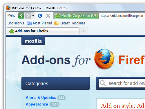 Compact Menu 2 :: Add-ons for Firefox