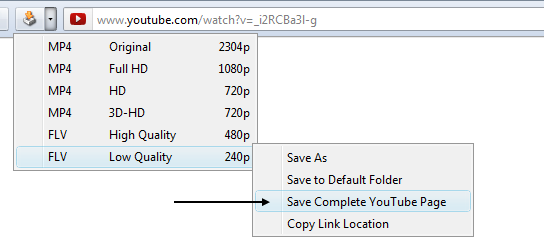 Complete YouTube Saver :: Add-ons for SeaMonkey