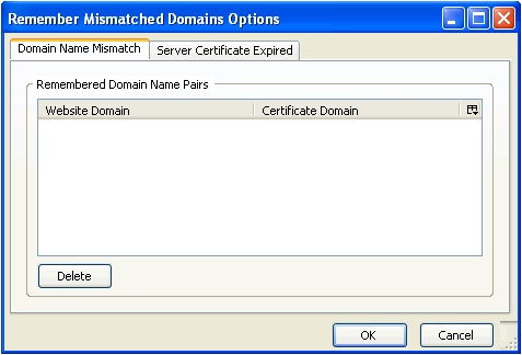 Remember Mismatched Domains :: Add-ons for Thunderbird