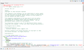 Capture d'écran du module n°4