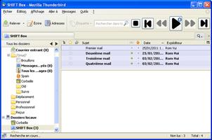 Capture d'écran du module n°3
